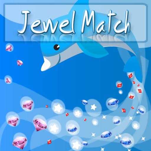 JewelMatch - Brain teaser, gem-matching puzzle