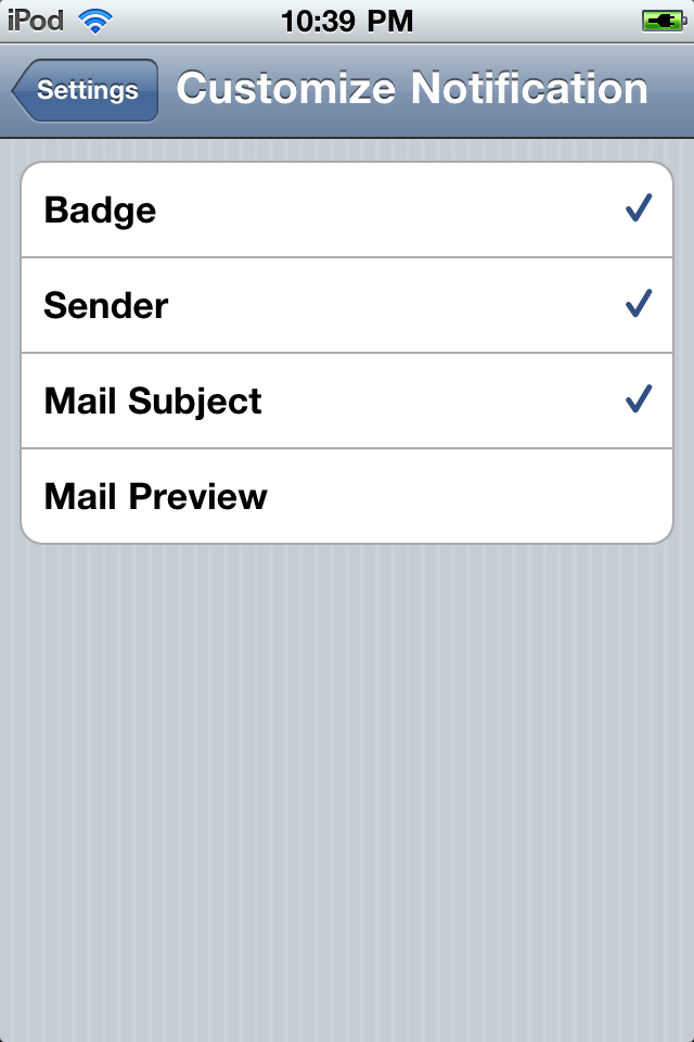 Push for Gmail screenshot 4