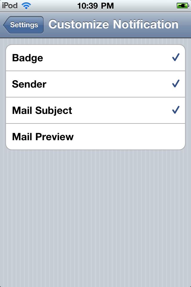 Push for Gmail screenshot 4