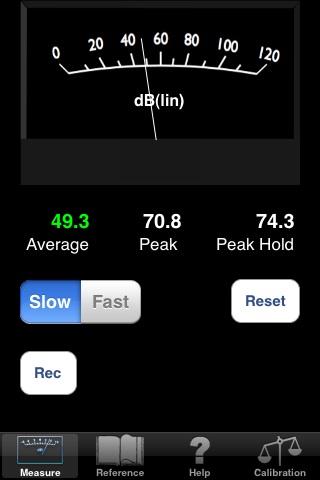 dBMeter Pro Screenshot