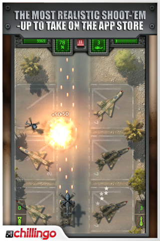 Sky Combat Lite screenshot #2