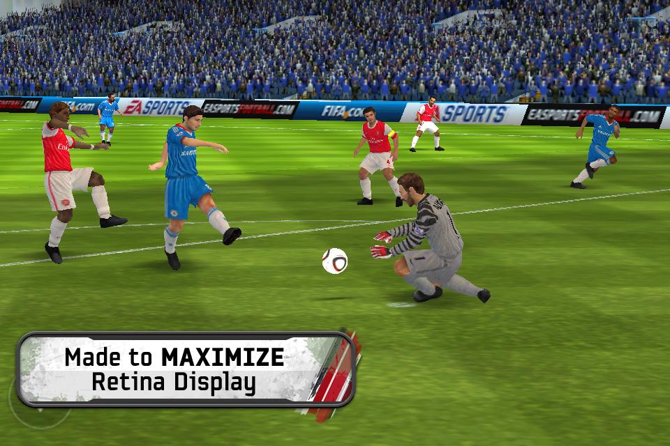 FIFA 11 by EA SPORTS™ screenshot 1