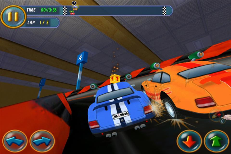 Mad Tracks screenshot #1