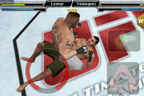 UFC® Undisputed™ screenshot #5