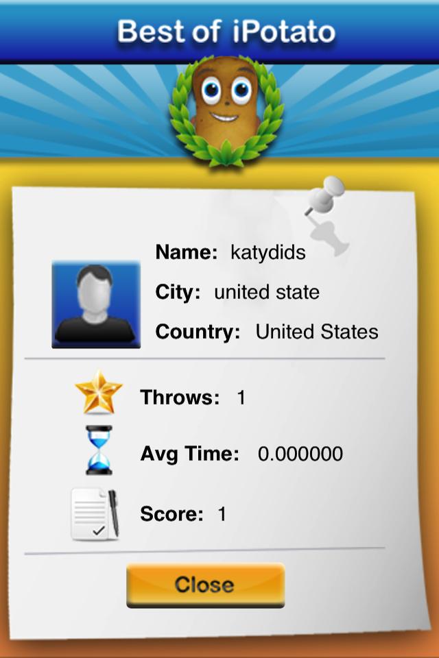 iPotato the Game Screenshot