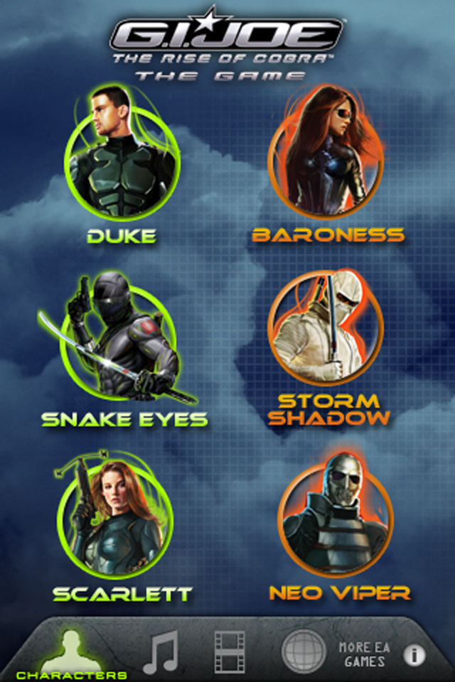 G.I. JOE - THE RISE OF COBRA - THE GAME image #1