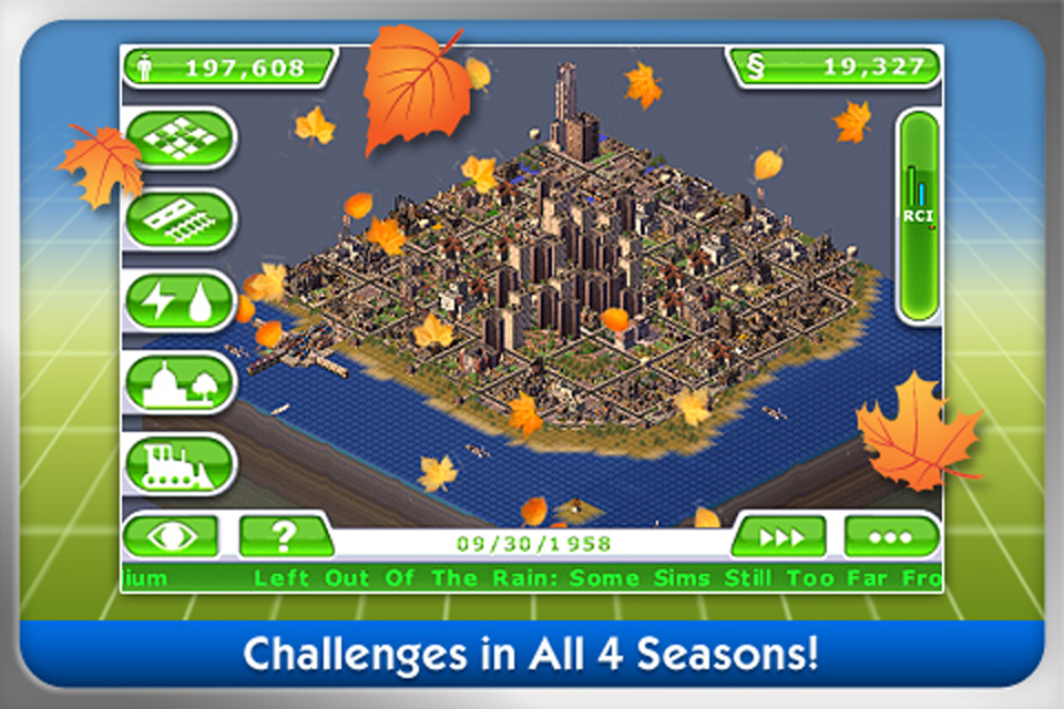 SimCity™ Deluxe FREE screenshot 2