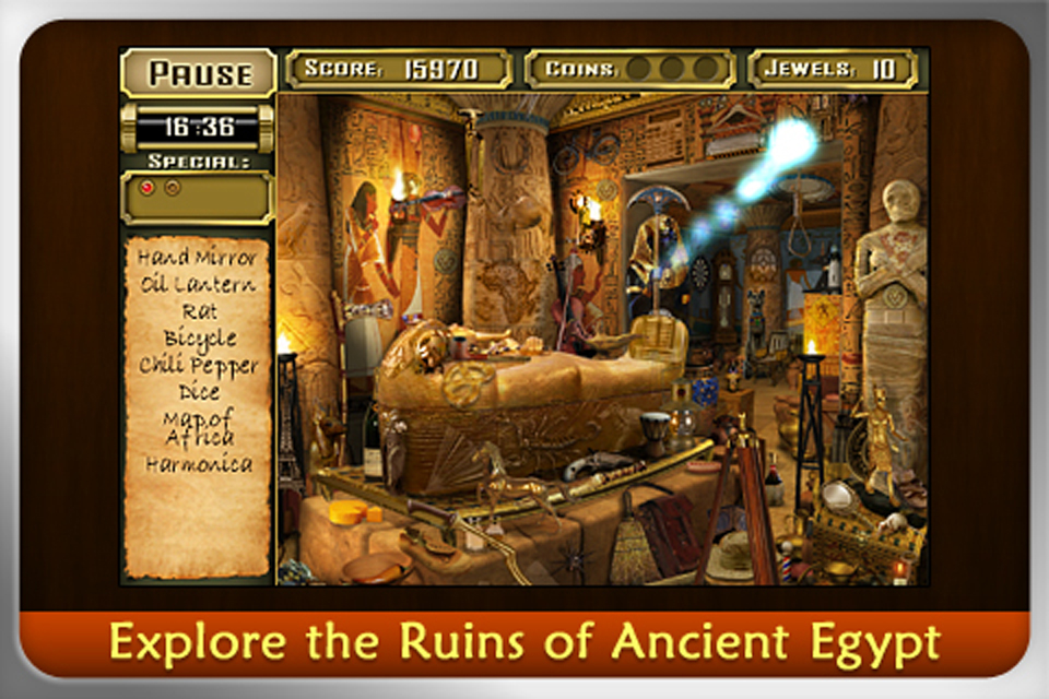 JEWEL QUEST MYSTERIES: CURSE OF THE EMERALD TEAR screenshot #1