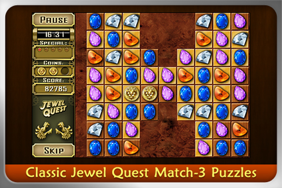 JEWEL QUEST MYSTERIES: CURSE OF THE EMERALD TEAR (International) screenshot #2