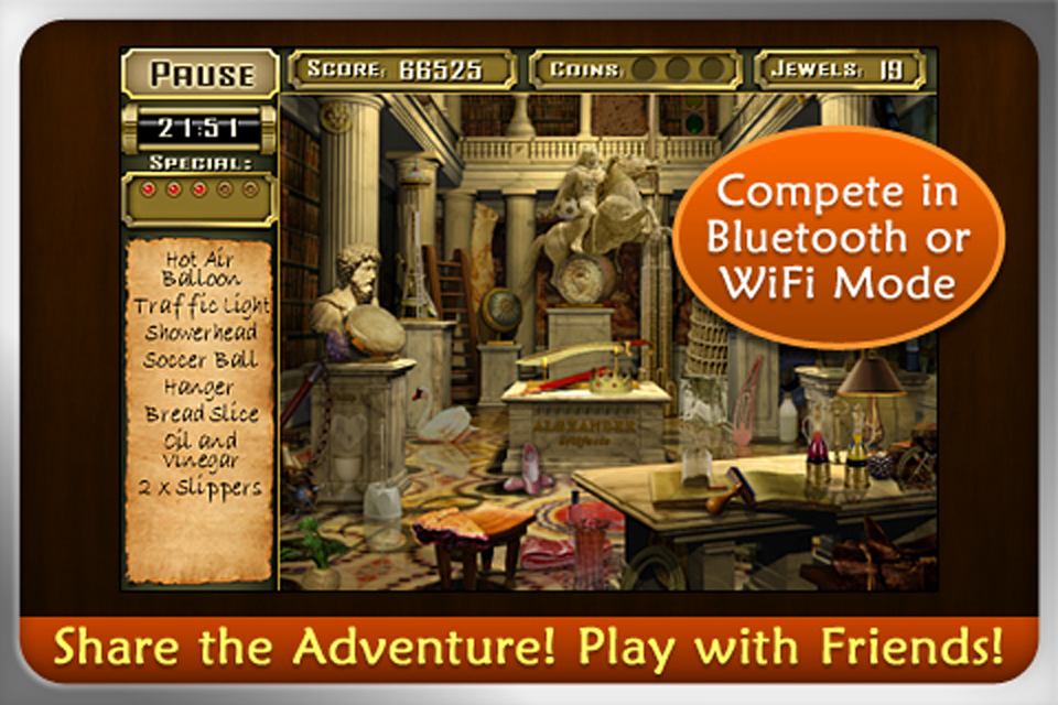 JEWEL QUEST MYSTERIES: CURSE OF THE EMERALD TEAR (International) screenshot #3