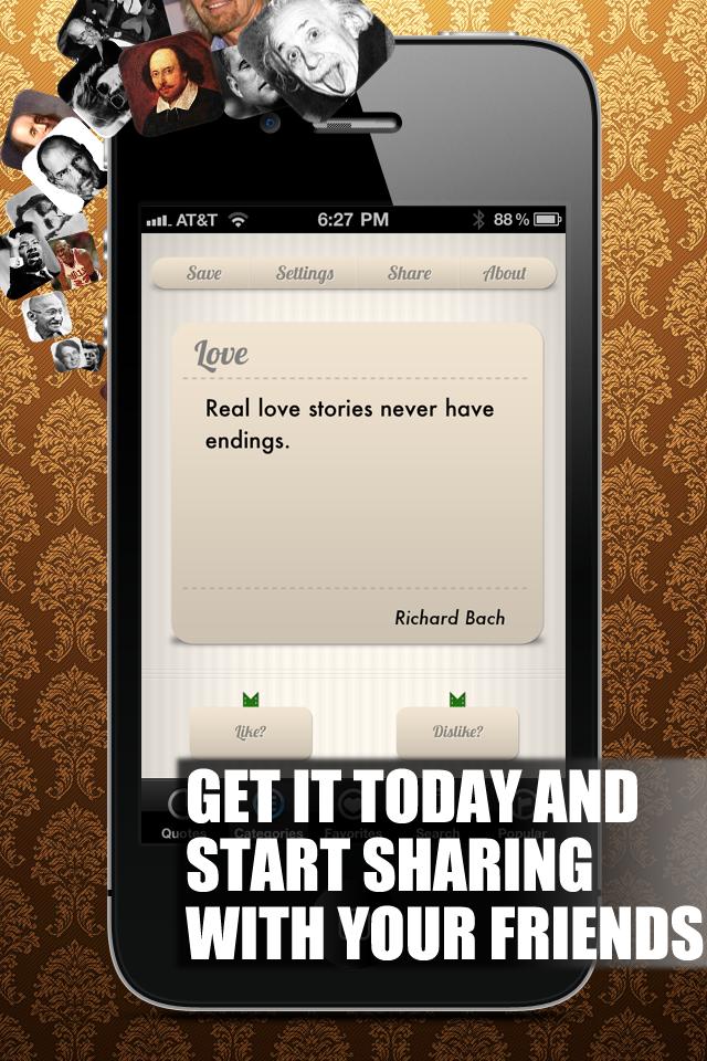 Quotes! Screenshot