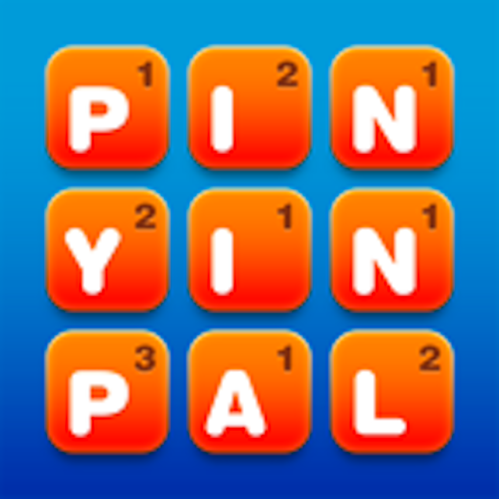 PinYinPal: The ONLY Free Mandarin Chinese word game available played with letters of the alphabet