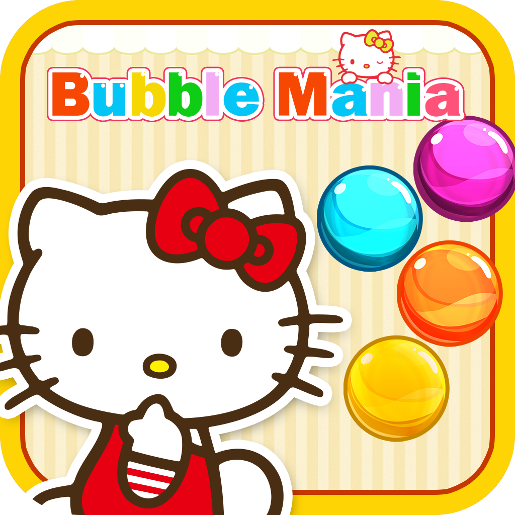 Bubble Mania Hello Kitty Edition