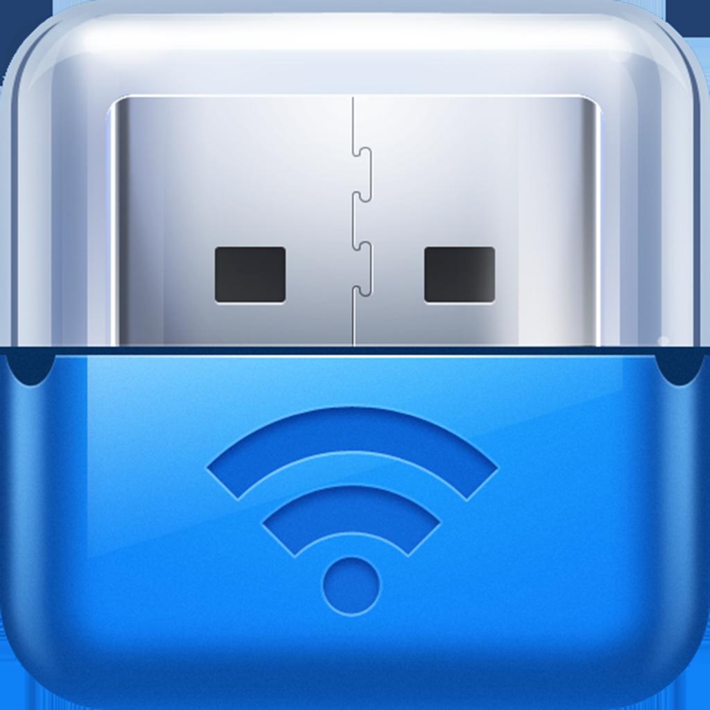 USB Flash Drive (USB+Wi-Fi+Bluetooth+Cloud Storage)