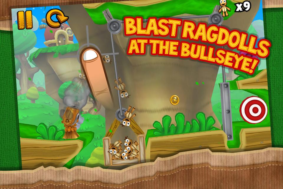 Ragdoll Blaster 3 Lite screenshot #2