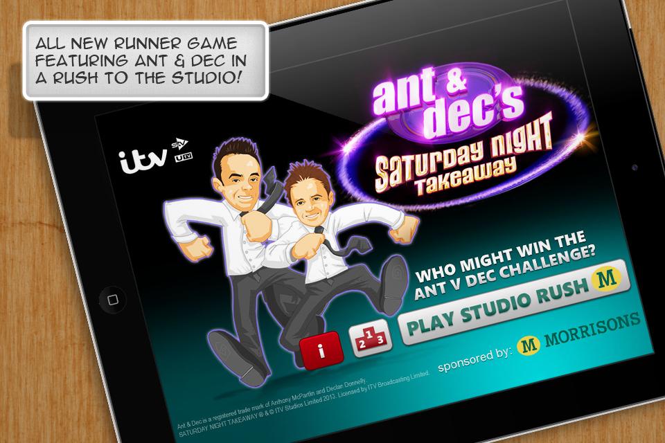 Ant & Dec's Saturday Night Takeaway screenshot #1