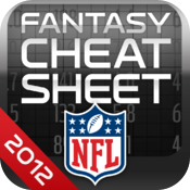 NFL Fantasy Football Cheat Sheet 2012