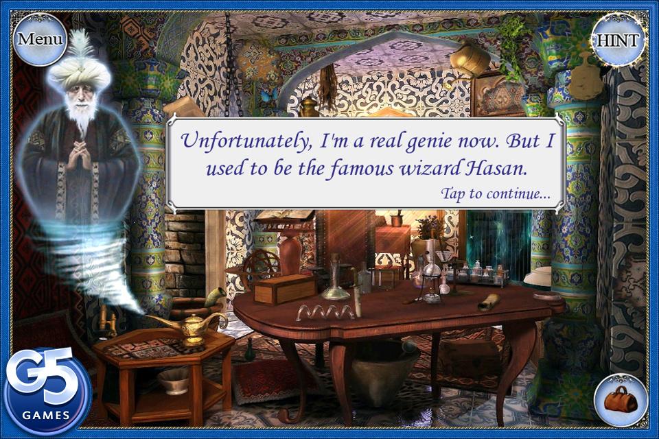 Treasure Seekers 2: The Enchanted Canvases  Free screenshot #1