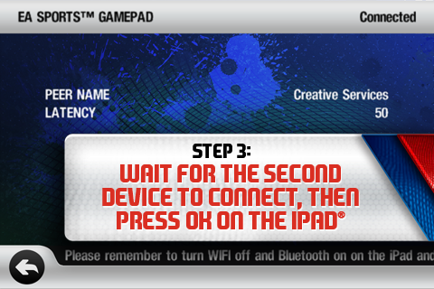 EA SPORTS  Gamepad screenshot #4