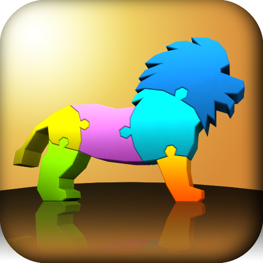 My First 3D Puzzle: Animals
