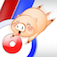 """148apps: """"Pig Curling challenges players with the joys of curling, but adds in some obstacles and replaces the stone with cute pigs"""