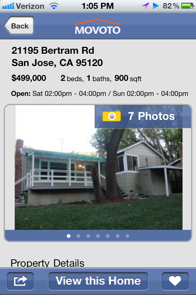 Movoto Real Estate – Homes for Sale Screenshot