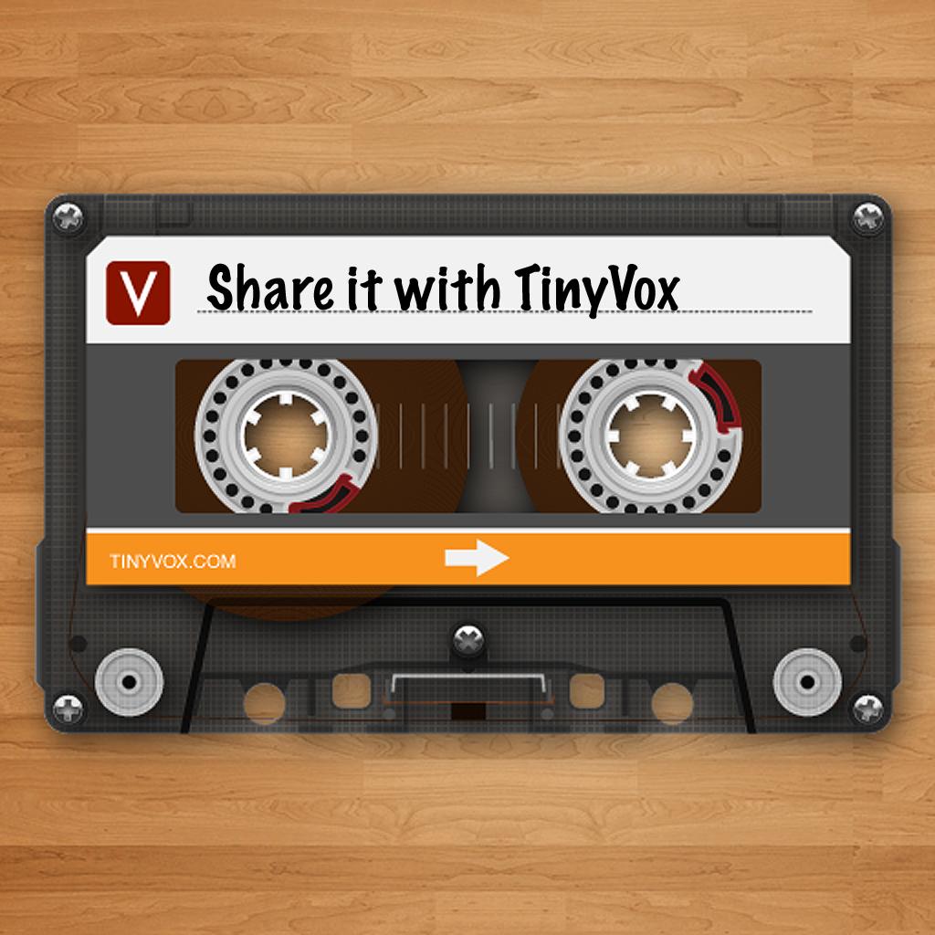 TinyVox Pro Audio Messenger/Recorder/Transmitter/Voice Memos
