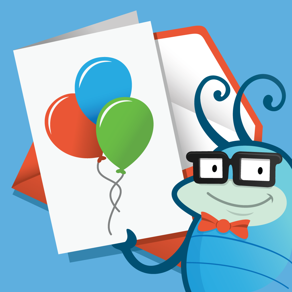 Birthday Cards by Cleverbug - personalized, printed, delivered