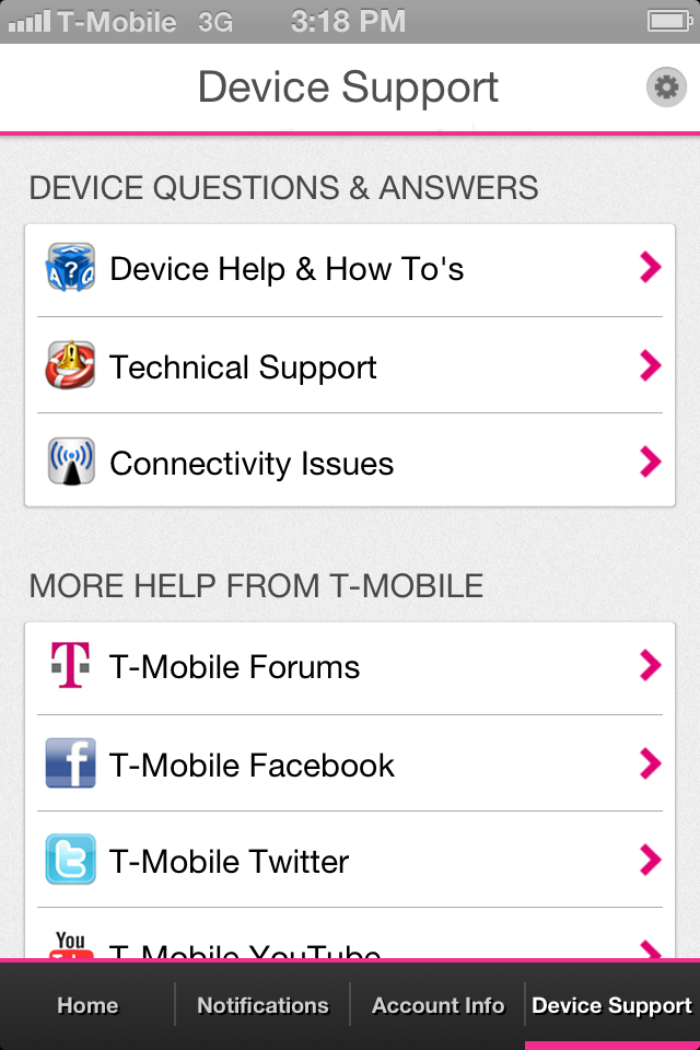 T-Mobile My Account | iPhone Utilities apps | by T-Mobile