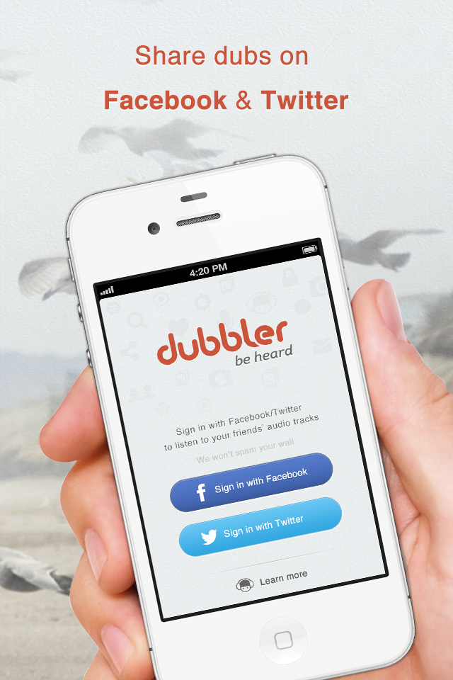 Dubbler – Record and Share Voice Screenshot