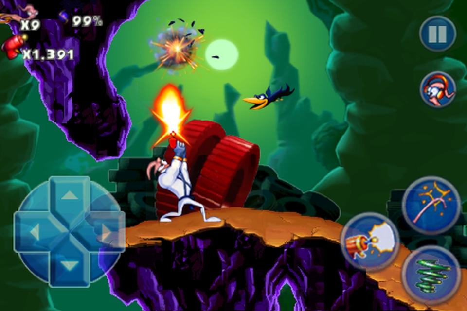 Earthworm Jim FREE screenshot #1