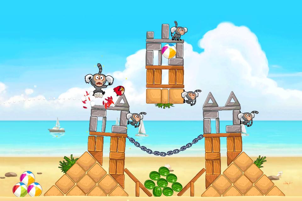 Angry Birds Rio Free screenshot #3