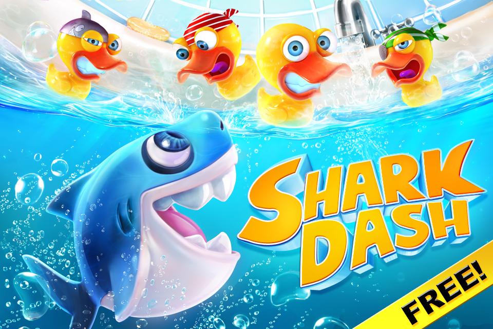 Shark Dash FREE screenshot 1