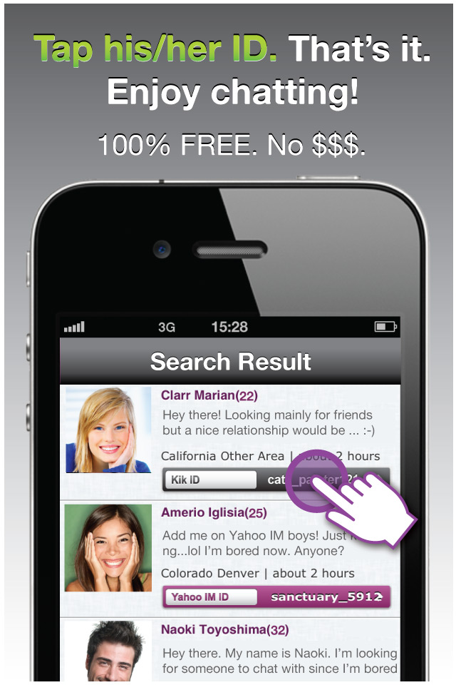 meet chat flirt app android