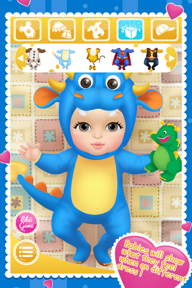 Baby Bedroom Dress Up Games: Baby Dress Up Game Game Online