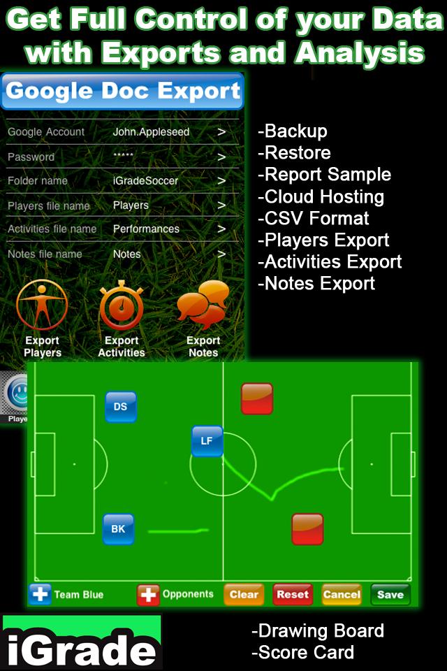 iGrade Soccer screenshot 4