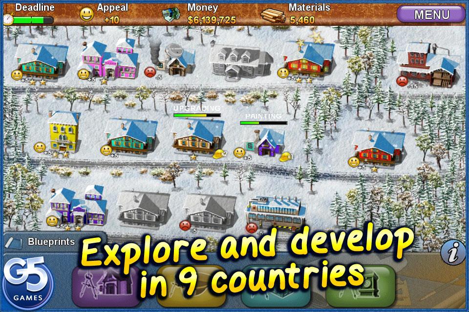 Build-a-lot 3: Passport to Europe screenshot #2