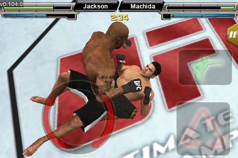 UFC® Undisputed™ screenshot #4
