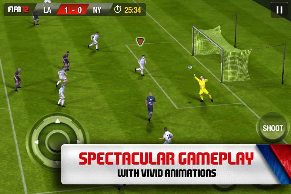 FIFA SOCCER 12 by EA SPORTS screenshot #1