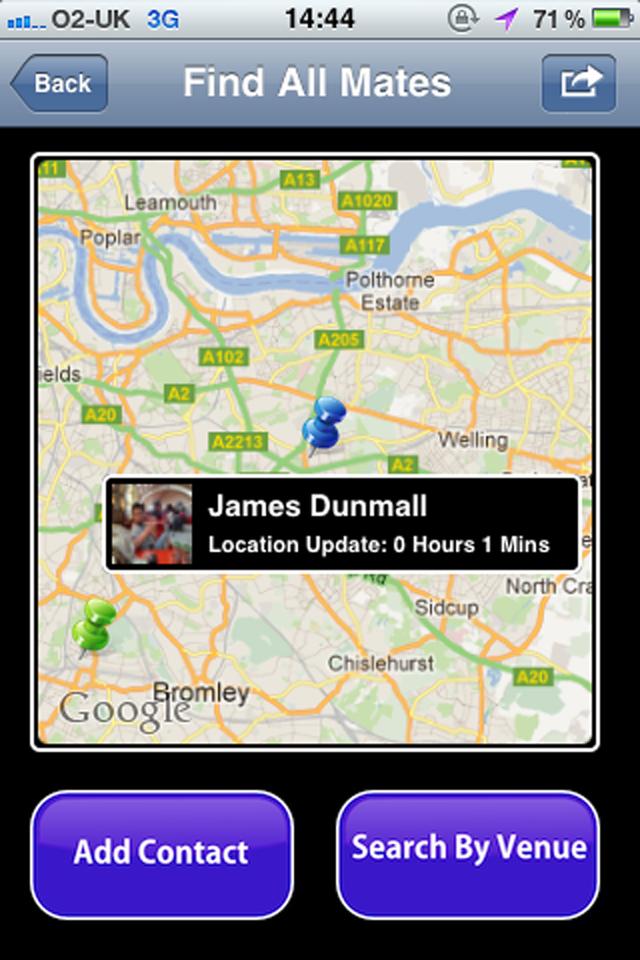 Find My Mate Screenshot