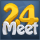 Meet24 – Flirt, Chat, Singles Icon