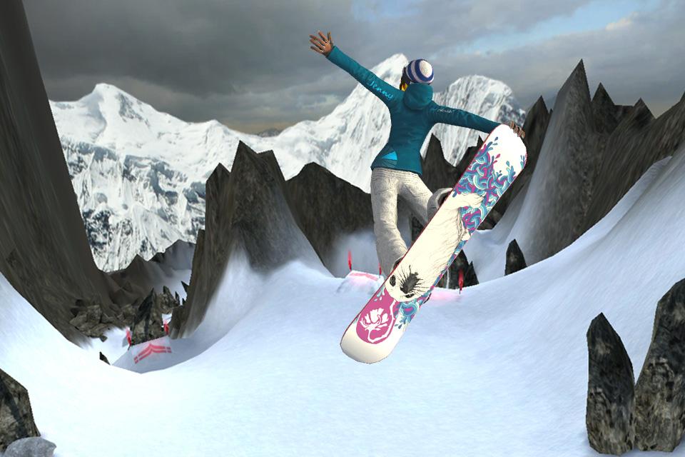SummitX Snowboarding HD screenshot 2