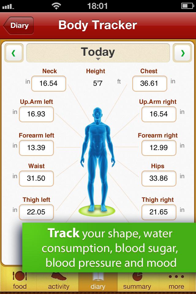 Calorie Counter Free screenshot 4