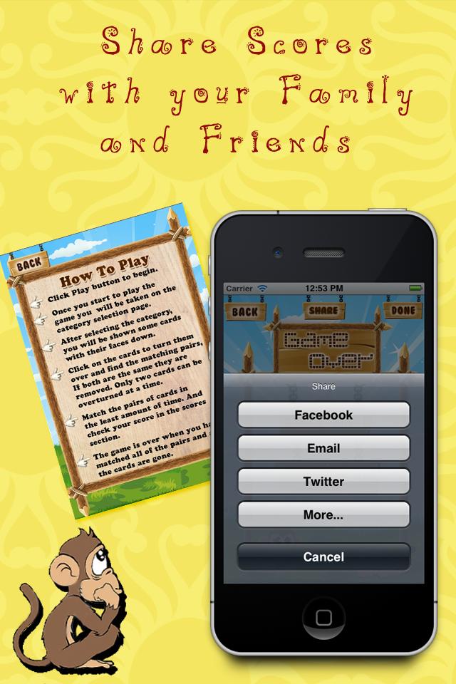 5-in-1 Memory Game Lite screenshot 5