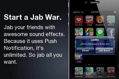 JabMe screenshot 2