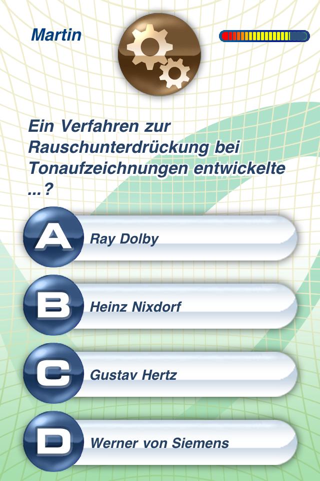 Wissenstraining Pro. Das Quiz screenshot 2