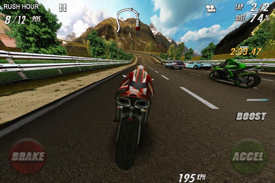 StreetBike: Full Blast Lite screenshot #4