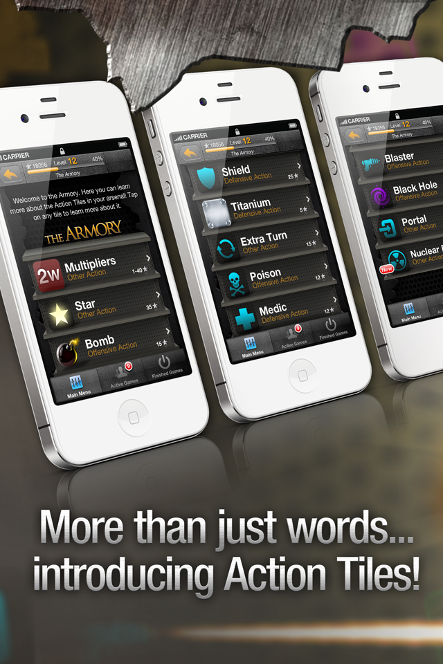 War of Words 2 - Crossword Strategy Game screenshot 4