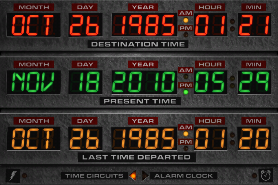 Back to the Future: Flux Capacitor screenshot 4