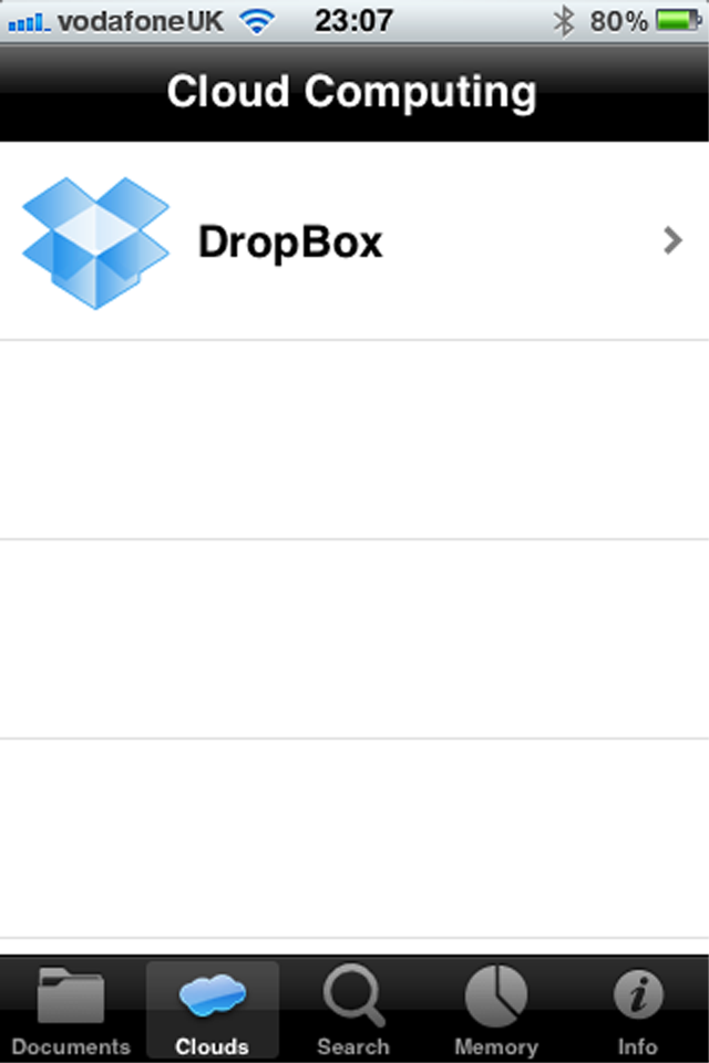Documents (Document Manager Lite) Screenshot